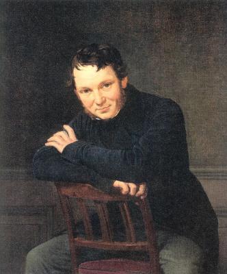 Николай Вильгельм Марстранд. Молодой человек, сидящий на стуле
