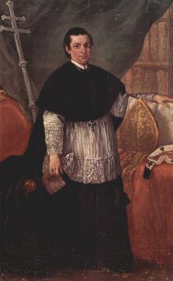 Пьетро Лонги. Портрет епископа Бенедетто Ганассони