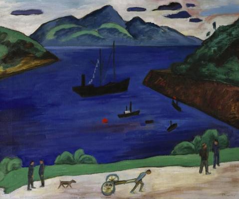 Gabriele Münter. The Port Of Narvik