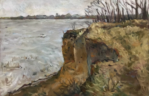 Alexander Dmitrievich Svistunov. Cliff