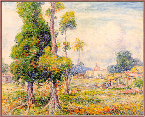 Рейнольдс Бил. Манговые деревья в Рио-Педрас