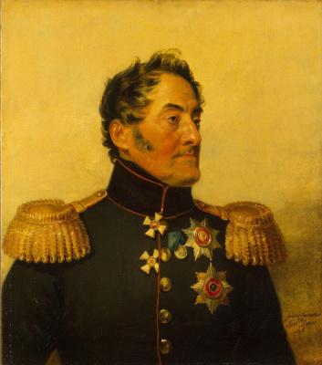 George Dow. Portrait of Lev Mikhailovich Yashvil