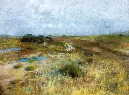 William Merritt Chase. October