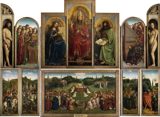 Jan van Eyck. Gents Altar
