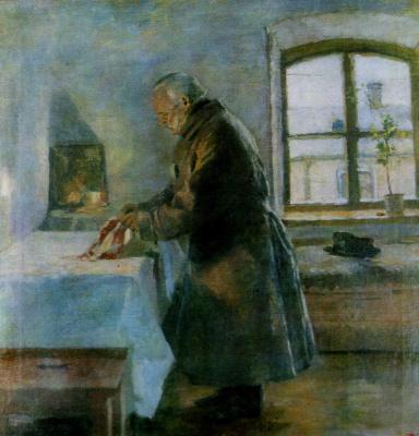 Кириак Константинович Костанди Украина 1852−1921. Одинокий. 1890