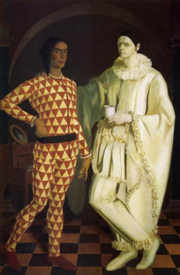 Alexander Yakovlev. Yakovlev, A. E. and Shukhaiev VI (harlequin and Pierrot)