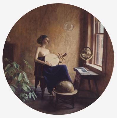 Тед Сет Джейкобс. Девушка смотрит в окно