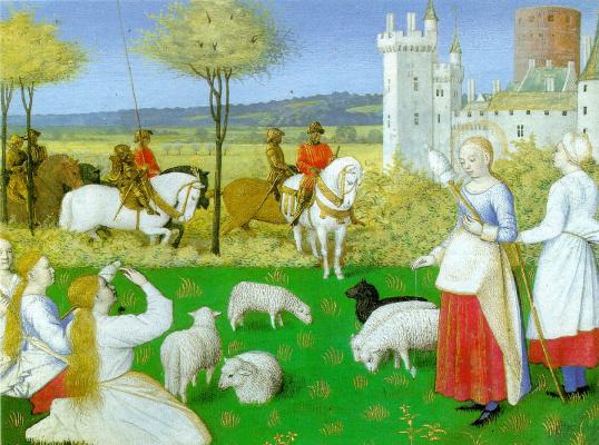 Jean Fouquet. Saint Margaret