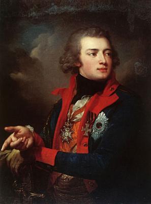 Йозеф Грасси. Портрет генерал-аншефа графа В. А. Зубова