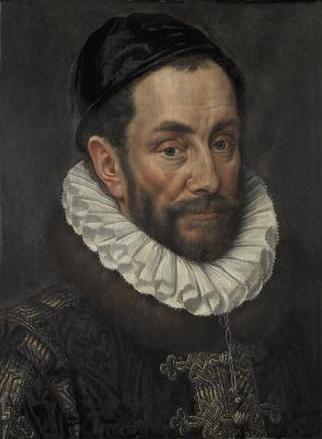 Адриан Томас Кей. Портрет принца Вильгельма I Оранского, прозванного Тихим