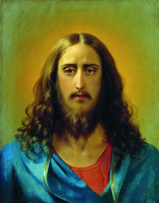 Сергей Константинович Зарянко. Христос Спаситель. 1864