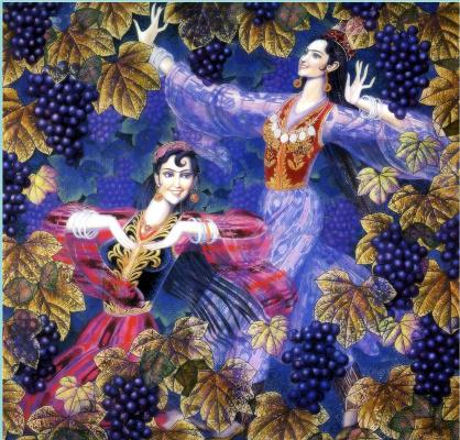 Wang Kund. Ripe grapes