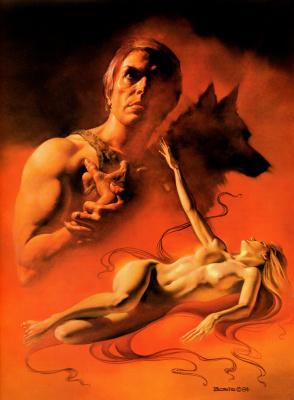Boris Vallejo (Valeggio). Wolves
