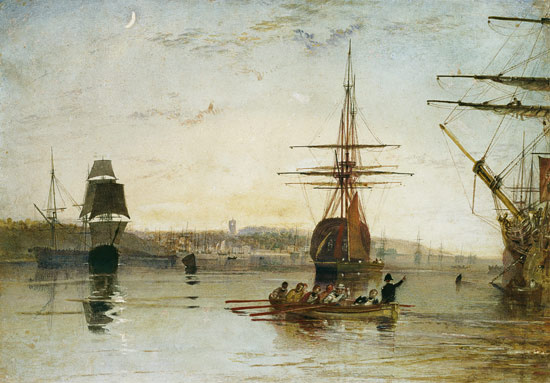 Joseph Mallord William Turner. Cowes, Isle of Wight