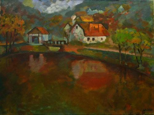 """Alexey Nikolaevich Dovgan. """"Big Pond"""""""