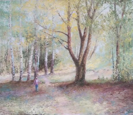 Nikolay Omelchenko. Autumn bouquet. oil on canvas 80x60