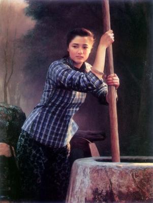 Хан-Ву Шен. Женщина у стены