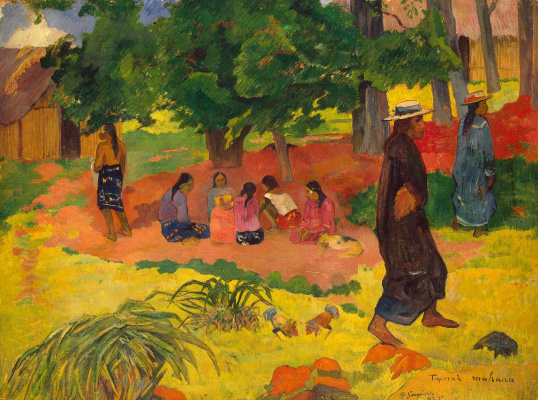 Paul Gauguin. Early evening