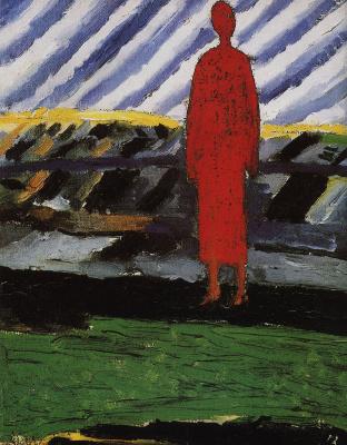 Kazimir Malevich. Red figure