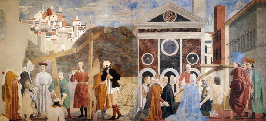 Piero della Francesca. Discovery and proof of the True cross