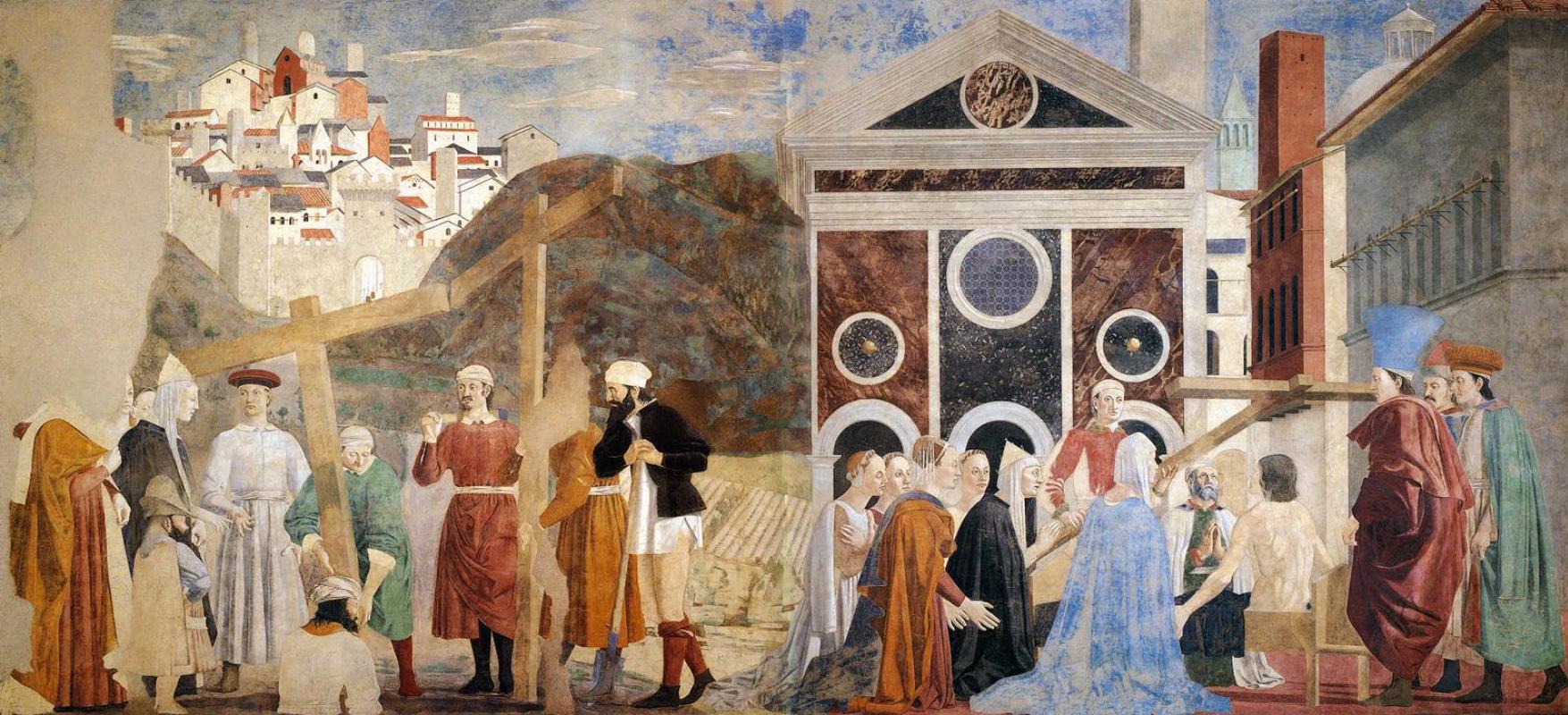 Пьеро делла Франческа. Открытие и доказательство Истинного Креста