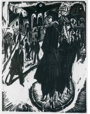 Ernst Ludwig Kirchner. Women on the Potsdamer Platz