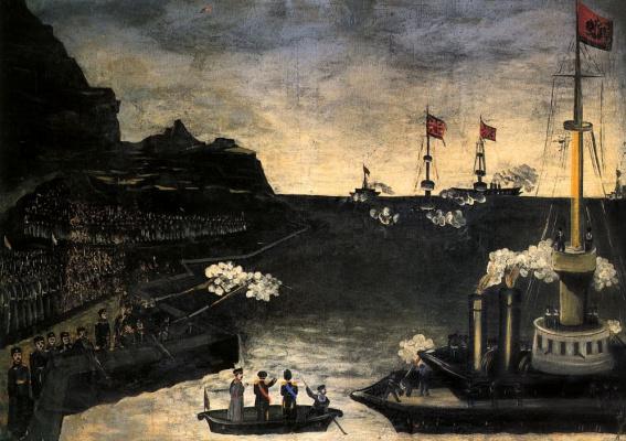 Niko Pirosmani (Pirosmanashvili). The Russo-Japanese war