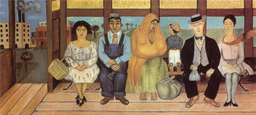 Frida Kahlo. Bus
