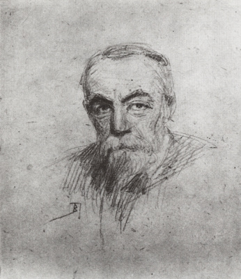 Vasily Dmitrievich Polenov. Self-portrait