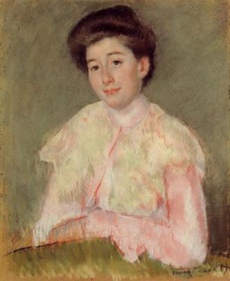 Mary Cassatt. Portrait of a lady