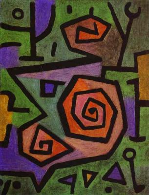 Paul Klee. Heroic roses