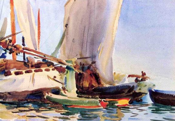 John Singer Sargent. Giudecca