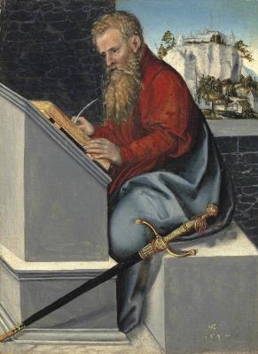 Lucas the Younger Cranach. Saint Paul. 1547