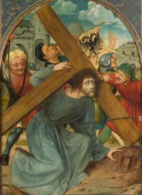 Quentin Masseys. Christ carrying the cross