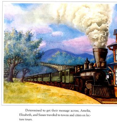 Мэри Де Нил Морган. Поезд