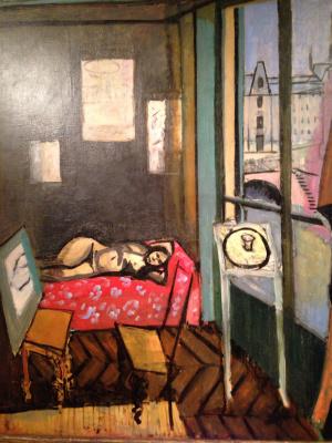 Henri Matisse. Studio, quay of Saint-Michel