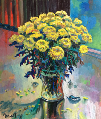 Marat Savelievich Gogaev. Chrysanthemum