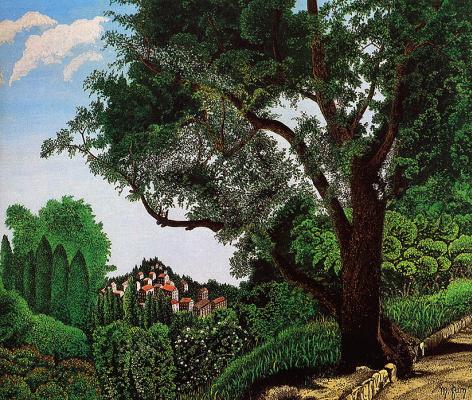 Морис Гримальди. Старое дерево
