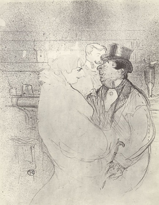 Henri de Toulouse-Lautrec. IDA Hit the bar