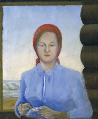 Anna Aleksandrovna Leporskaya. Worker