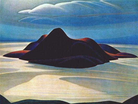 Lauren Harris. Island peak