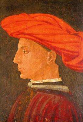 Томмазо Мазаччо. Портрет молодого человека