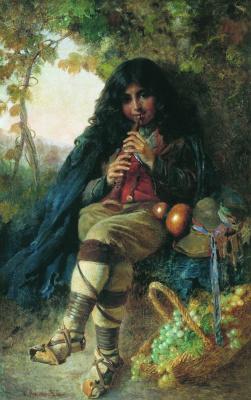 Константин Егорович Маковский. Итальянский мальчик