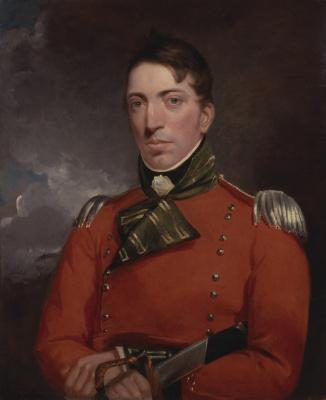 John Constable. Captain Richard Gubbins