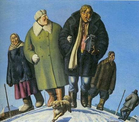 Vasily Vladimirovich Shulzhenko. On a country road