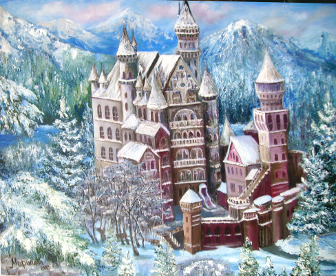 Марианна Хамзяевна Малышева. Зимний замок