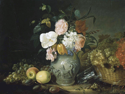 Ivan Fomich (Trofimovich) Khrutsky. Flowers and fruits