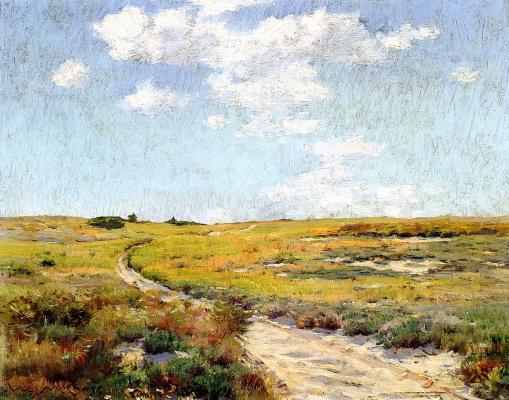 William Merritt Chase. Sunny day, Shinnecock hills