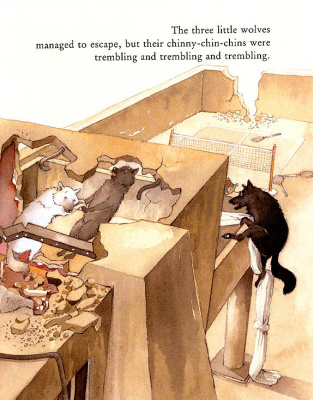 Хелен Охенбуру. Три маленьких волчонка и большой плохой свин 15