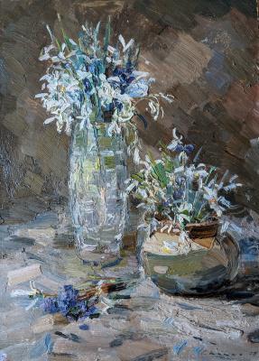 Sergey Fedorovich Shishko. Snowdrops